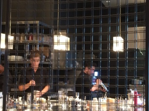 Aviary - Bird CAge. Bar tenders and Mixologists at work.