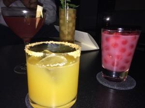 4 drinks 4 different tastes. Weird ingredients which make so much sense to the pallette.