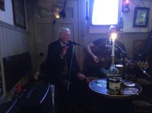 O connor's pub and the locals singing